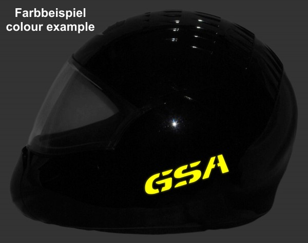 Reflective helmet sticker R1200GS Adventure style Typ 1