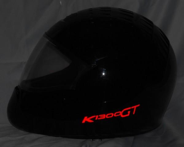 Helmaufkleber reflektierend im Stil K1300GT Typ 2