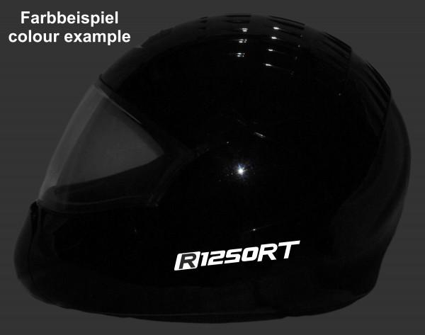 Helmaufkleber reflektierend im Stil R1250RT Typ 1