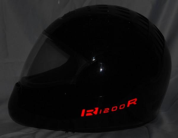 Helmaufkleber reflektierend im Stil R1200R Typ 2