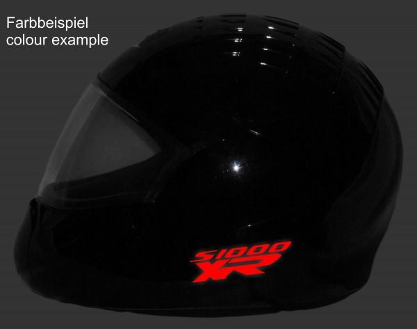 Helmaufkleber reflektierend im Stil S1000XR Typ 1