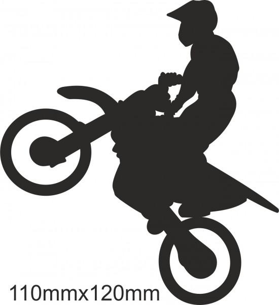 Motobike Moto Cross Freestyle sticker #11 different colours