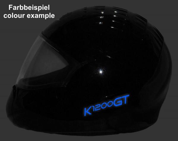 Helmaufkleber reflektierend im Stil K1200GT Typ 1