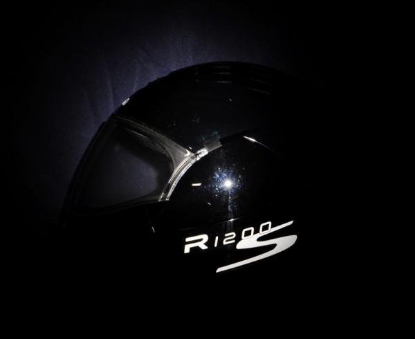 Helmaufkleber reflektierend im Stil R1200S Typ 2