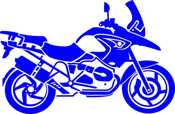 BMW R1200GS sticker in different colours