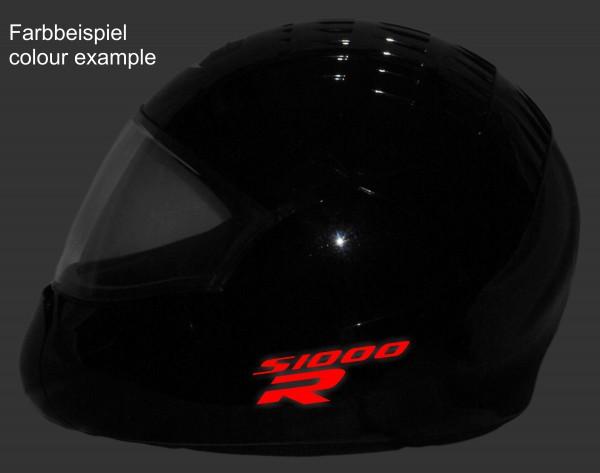 Reflective helmet sticker S1000R style Typ 1