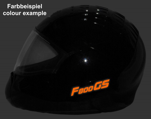 Reflective helmet sticker F800GS style Typ 1