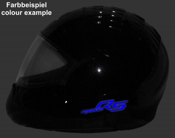 Reflective helmet sticker R1200RS LC style Typ 1