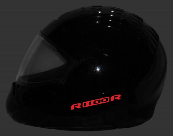 Helmaufkleber reflektierend im Stil R1100R Typ 1