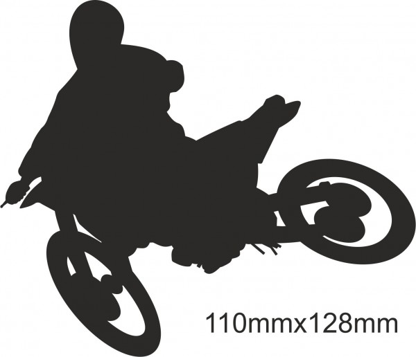 Motobike Moto Cross Freestyle sticker #21 different colours