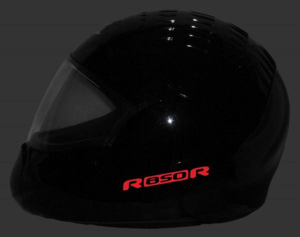 Reflective helmet sticker R850R style Typ 1