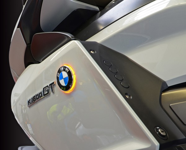 LED emblem indicator lights K1600GT untill model 2016