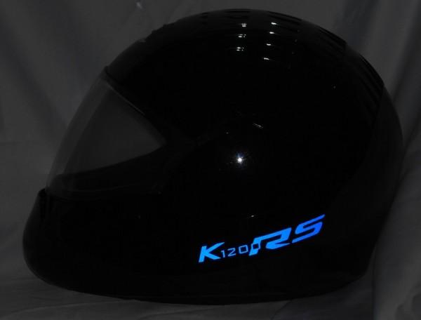 Helmaufkleber reflektierend im Stil K1200RS Typ 1