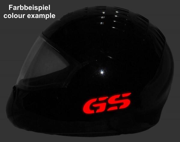 Reflective helmet sticker R1200GS style Typ 4