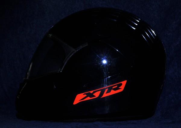 Reflective helmet sticker Yamaha XJR style Typ 1