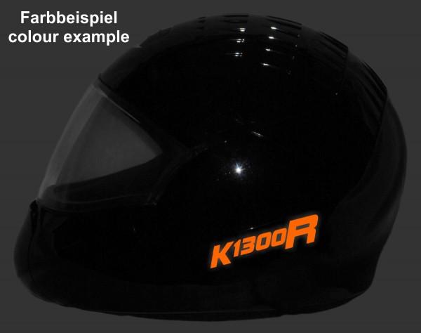 Reflective helmet sticker K1300R style Typ 2