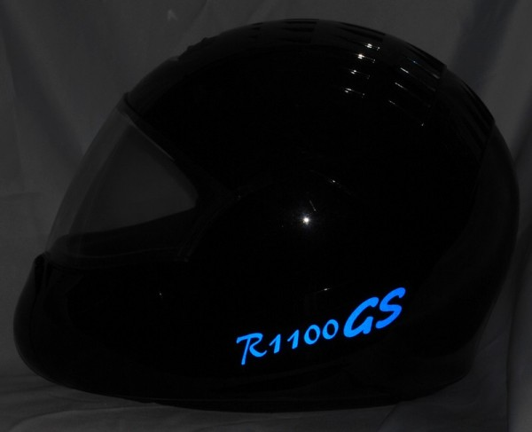 Reflective helmet sticker R1100GS style Typ 1