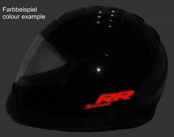 Reflective helmet sticker S1000RR style Typ 1
