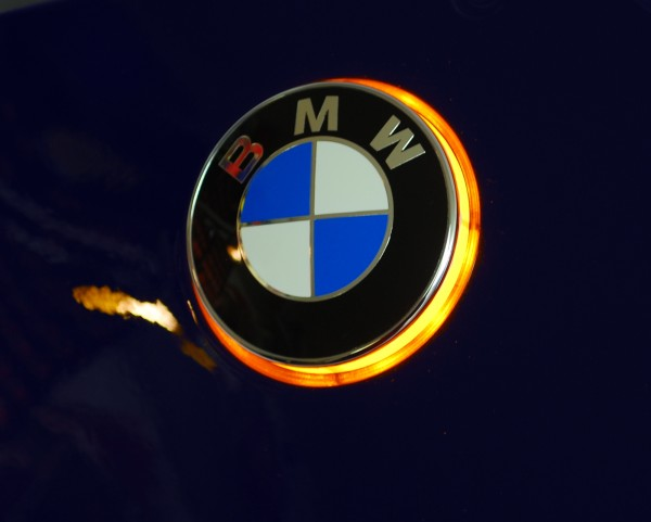 K1200GT BMW roundel badge LED lights / Emblem lights