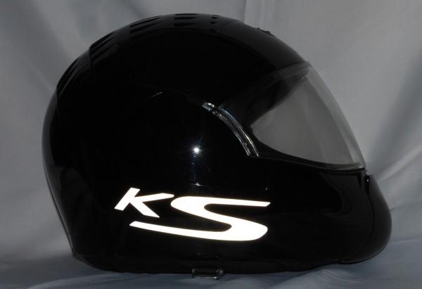 Reflective helmet sticker K1300S style Typ 5