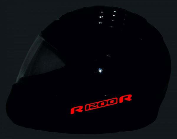 Reflective helmet sticker R1200R style Typ 1