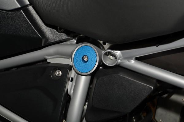 Für BMW R1200RS LC, R1250RS LC Rahmenabdeckung Federbeinverschraubung