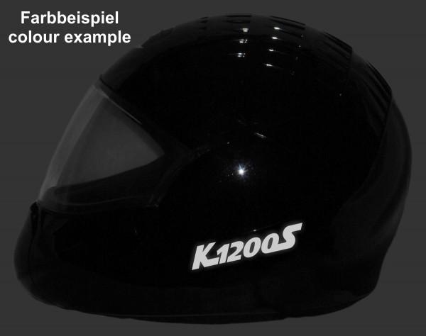 Reflective helmet sticker K1200S style Typ 1