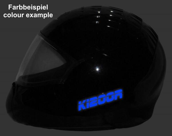 Reflective helmet sticker K1200R style Typ 2