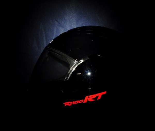 Reflective helmet sticker R1100RT style Typ 2