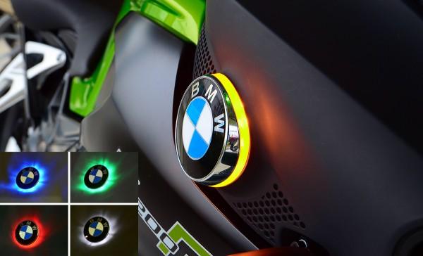 K1200R BMW two colour roundel badge LED lights
