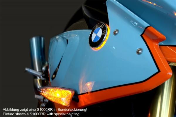 BMW S1000RR till 2018 LED emblem indicator lights