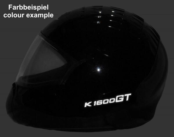Helmaufkleber reflektierend im Stil K1600GT Typ 1