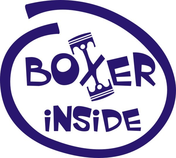 Sticker Boxer Inside #1