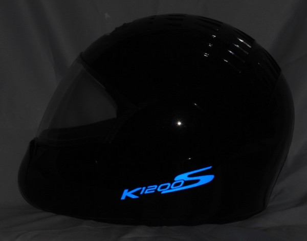 Reflective helmet sticker K1200S style Typ 5