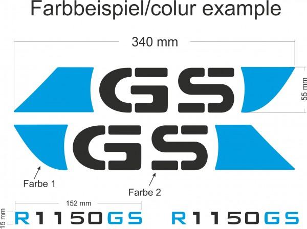 R1150GS Beschriftungsset