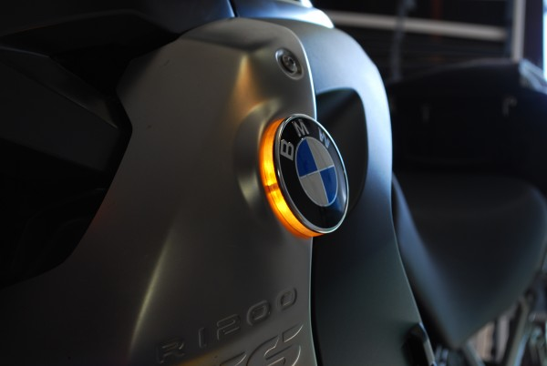 For BMW R1200GS from model 2008 to 2012 LED emblem indicator lights