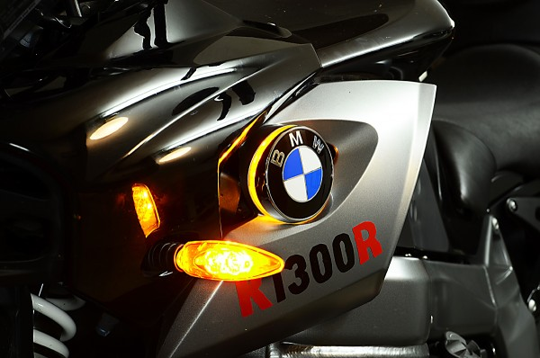 K1300R LED emblem indicator lights