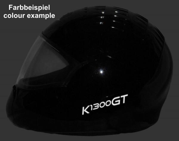 Reflective helmet sticker K1300GT style Typ 1