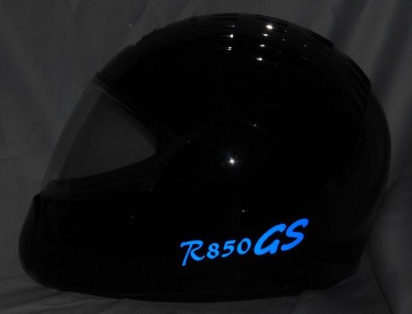 Helmaufkleber reflektierend im Stil R850GS Typ 1