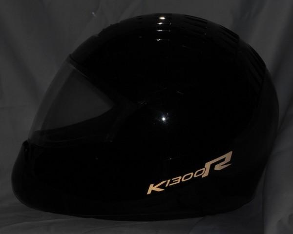 Helmaufkleber reflektierend im Stil K1300R Typ 3