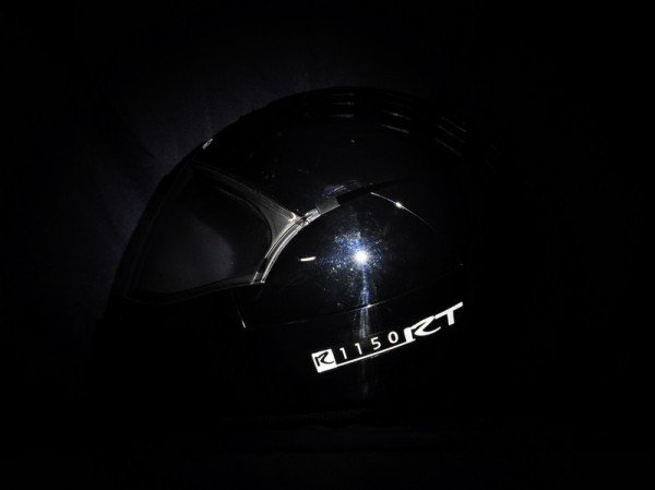 Reflective helmet sticker R1150RT style Typ 2