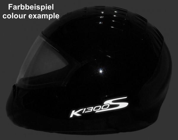 Helmaufkleber reflektierend im Stil K1300S Typ 4