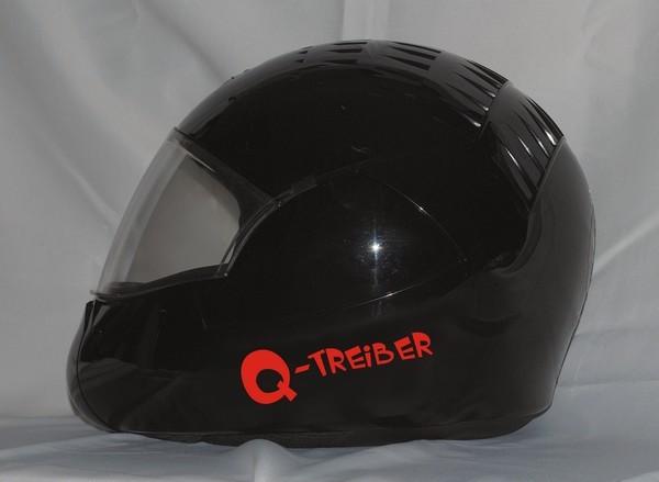 Aufkleber/Helmaufkleber Q-Treiber
