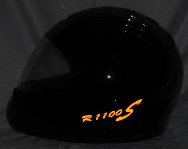 Helmaufkleber reflektierend im Stil R1100S Typ 1