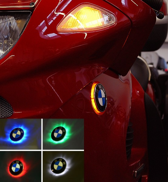 K1200RS/GT two colour emblem indicator lights